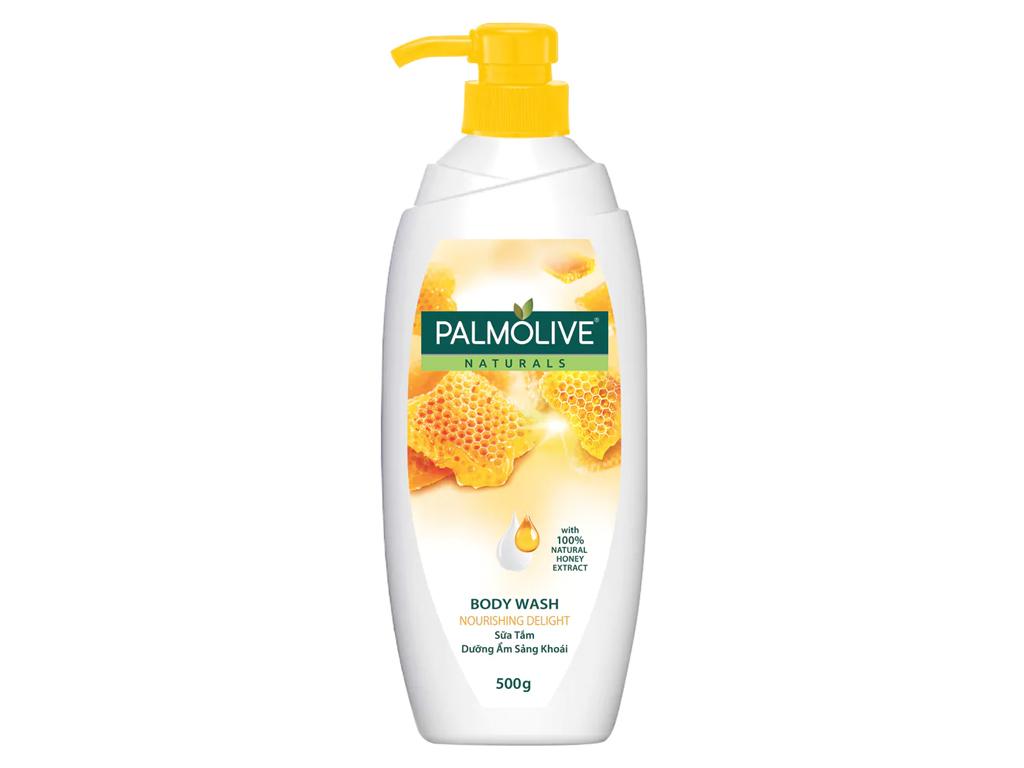 Sữa tắm dưỡng ẩm sảng khoái Palmolive mật ong 500g 1