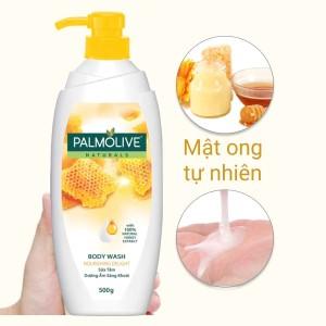 Sữa tắm dưỡng ẩm sảng khoái Palmolive mật ong 500g