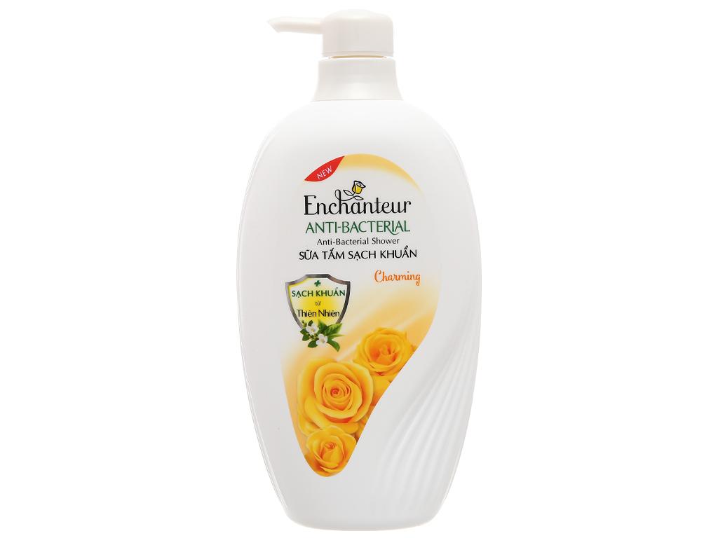 Sữa tắm sạch khuẩn Enchanteur Charming 650g 1