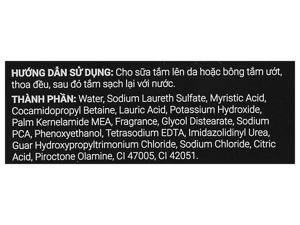 Sữa tắm sạch khuẩn Romano Classic 650g 3