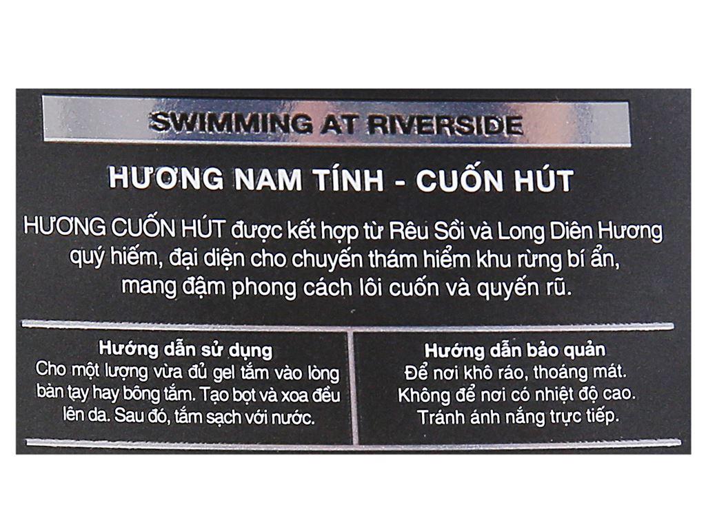 Gel tắm nước hoa Dynik Swimming At Riverside 180g 3