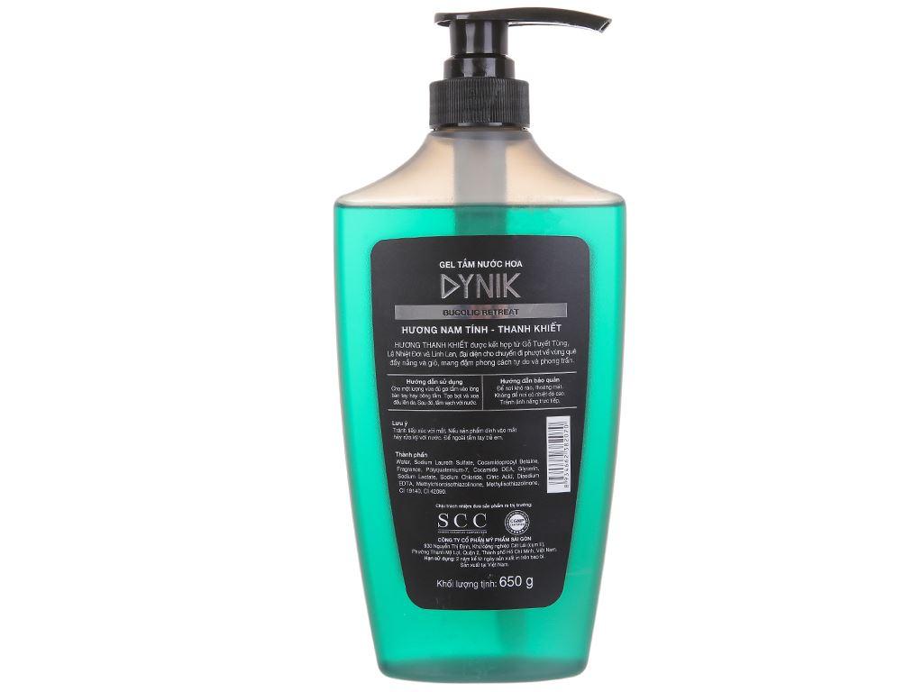 Gel tắm nước hoa Dynik Bucolic Retreat 650g 2