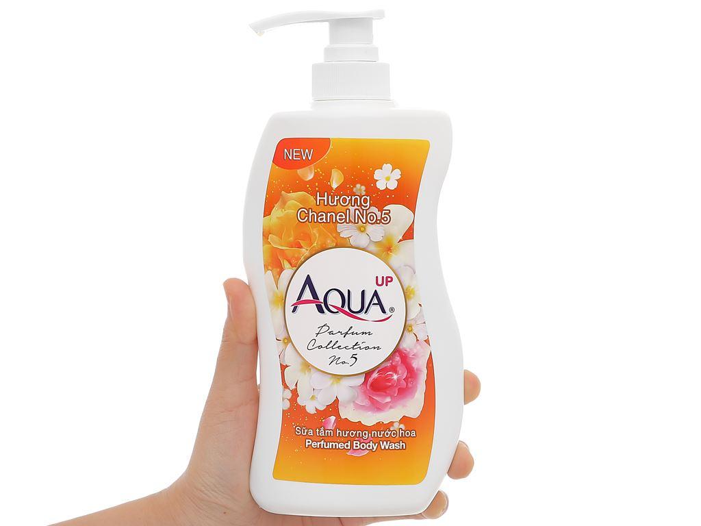 Sữa tắm Aqua up hương nước hoa 700ml 4