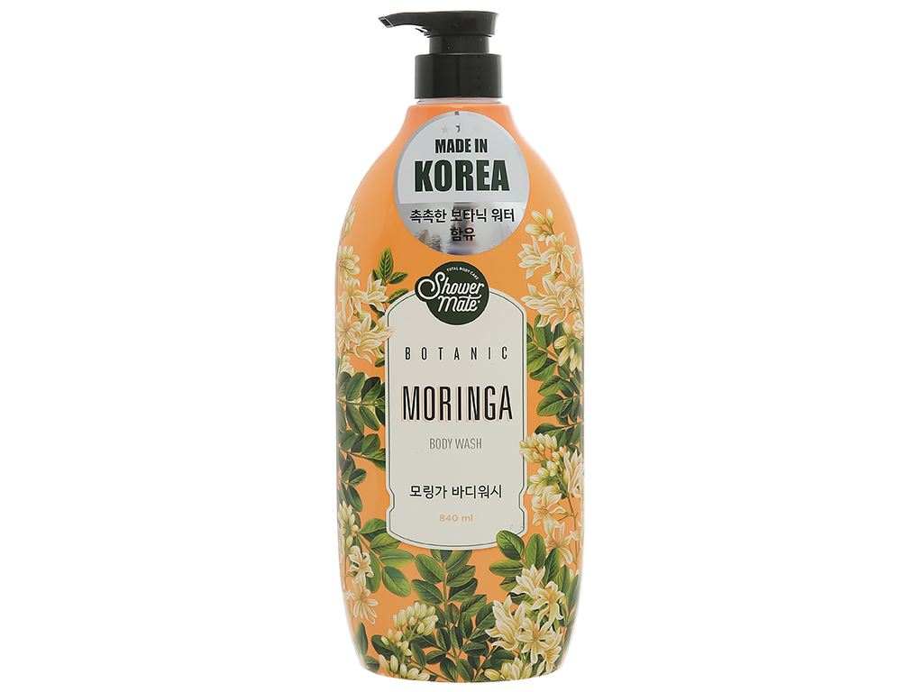 Sữa tắm Shower Mate hương moringa 840ml 1