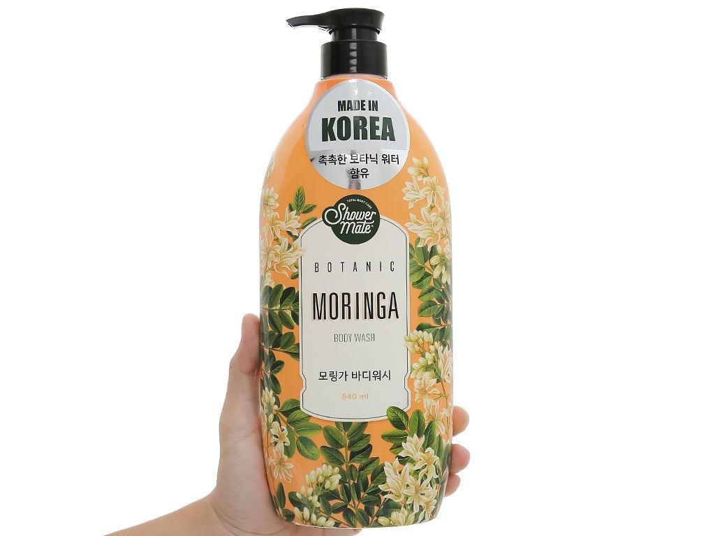 Sữa tắm Shower Mate hương moringa 840ml 4