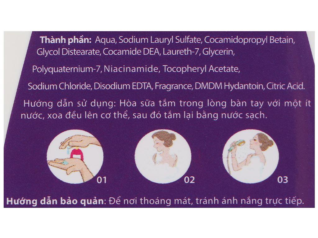 Sữa tắm Puri hương hoa Lavender 450g 3