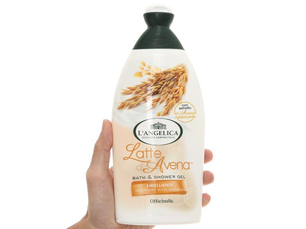 Sữa tắm L'Angelica Oat Milk 500ml 4