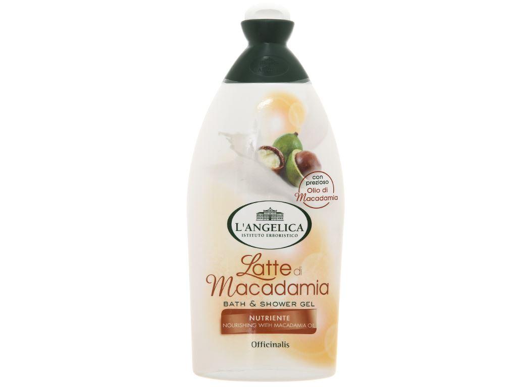Sữa tắm L'Angelica Macadimia Oil 500ml 1
