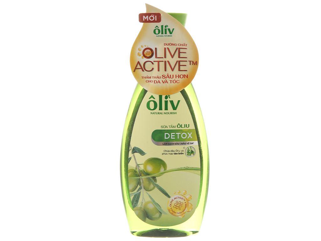 Sữa tắm Ôliv Detox sạch sâu bảo vệ da 250ml 1