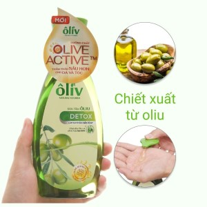 Sữa tắm Ôliv Detox sạch sâu bảo vệ da 250ml