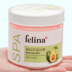 Muối tắm Felina tẩy tế bào chết chiết xuất bơ 500g