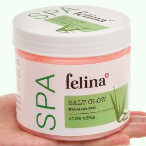 Muối tắm Felina tẩy tế bào chết chiết xuất lô hội 500g