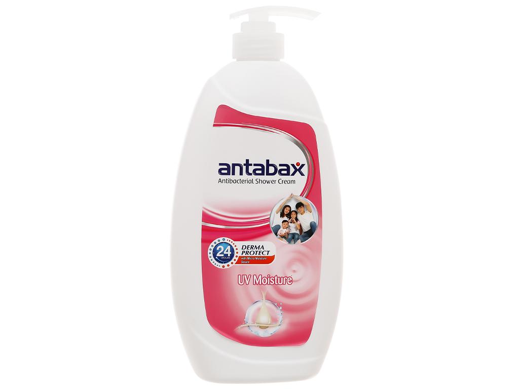 Sữa tắm Antabax trắng sáng (UV Moisture) 850ml 1