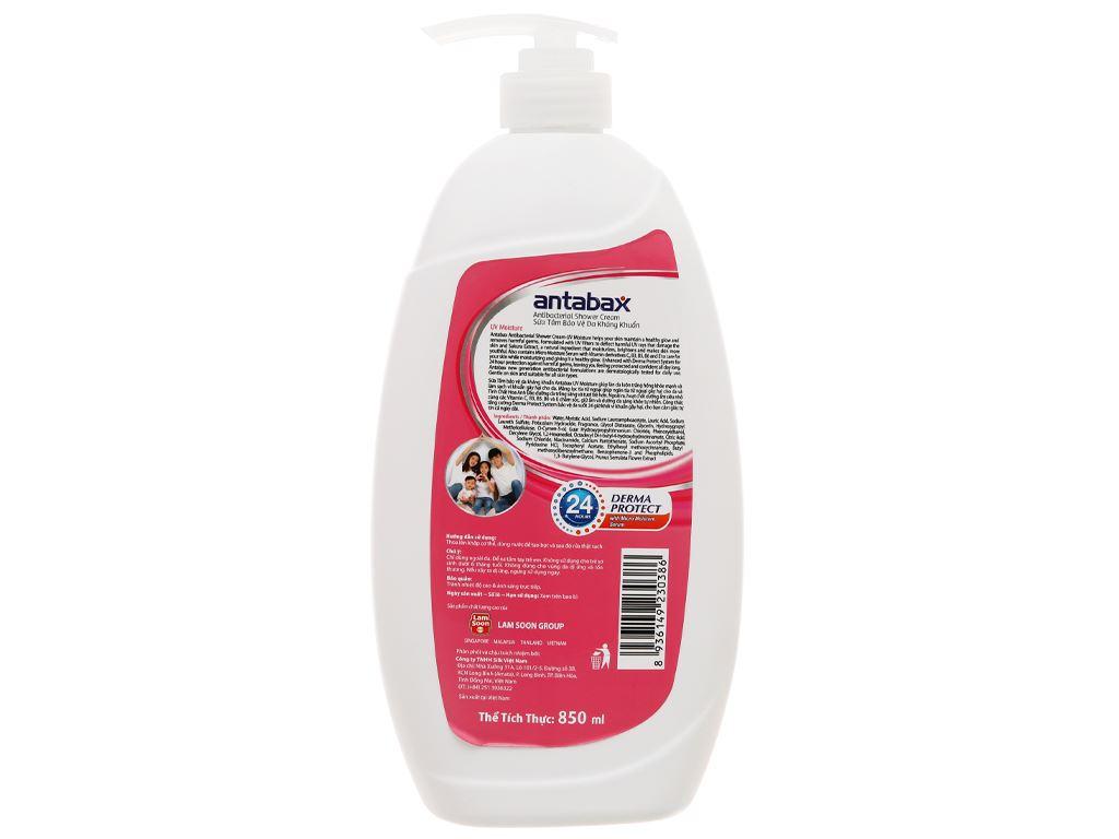 Sữa tắm Antabax trắng sáng (UV Moisture) 850ml 2