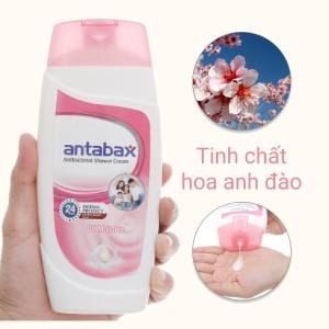 Sữa tắm Antabax trắng sáng (UV Moisture) 250ml