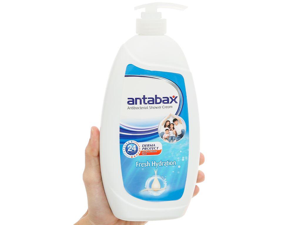 Sữa tắm Antabax sảng khoái (Fresh Hydration) 850ml 4