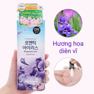 Sữa tắm ON THE BODY Romantic Iris Floral 500g