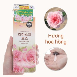 Sữa tắm ON THE BODY Damask Rose Floral 500g