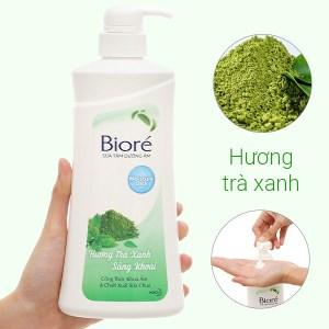 Sữa tắm Bioré trà xanh 530g
