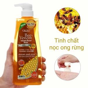 Sữa tắm Cruset tinh chất nọc ong rừng 500ml