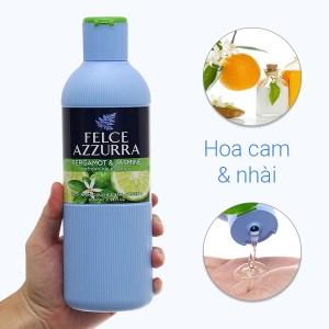 Sữa tắm nước hoa Felce Azzurra hoa cam & nhài 650ml
