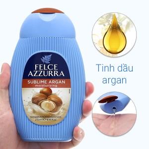 Sữa tắm nước hoa Felce Azzurra Argan đặc biệt 250ml