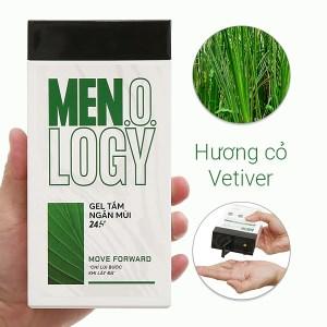 Gel tắm ngăn mùi 24 giờ MEN.O.LOGY Move Forward 350ml