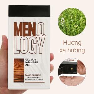 Gel tắm ngăn mùi 24 giờ MEN.O.LOGY Take Chance 350ml