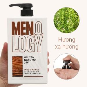 Gel tắm ngăn mùi 24 giờ MEN.O.LOGY Take Chance 630ml