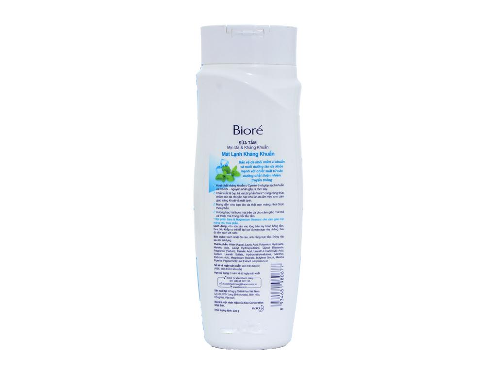 Sữa tắm Bioré 220g 3
