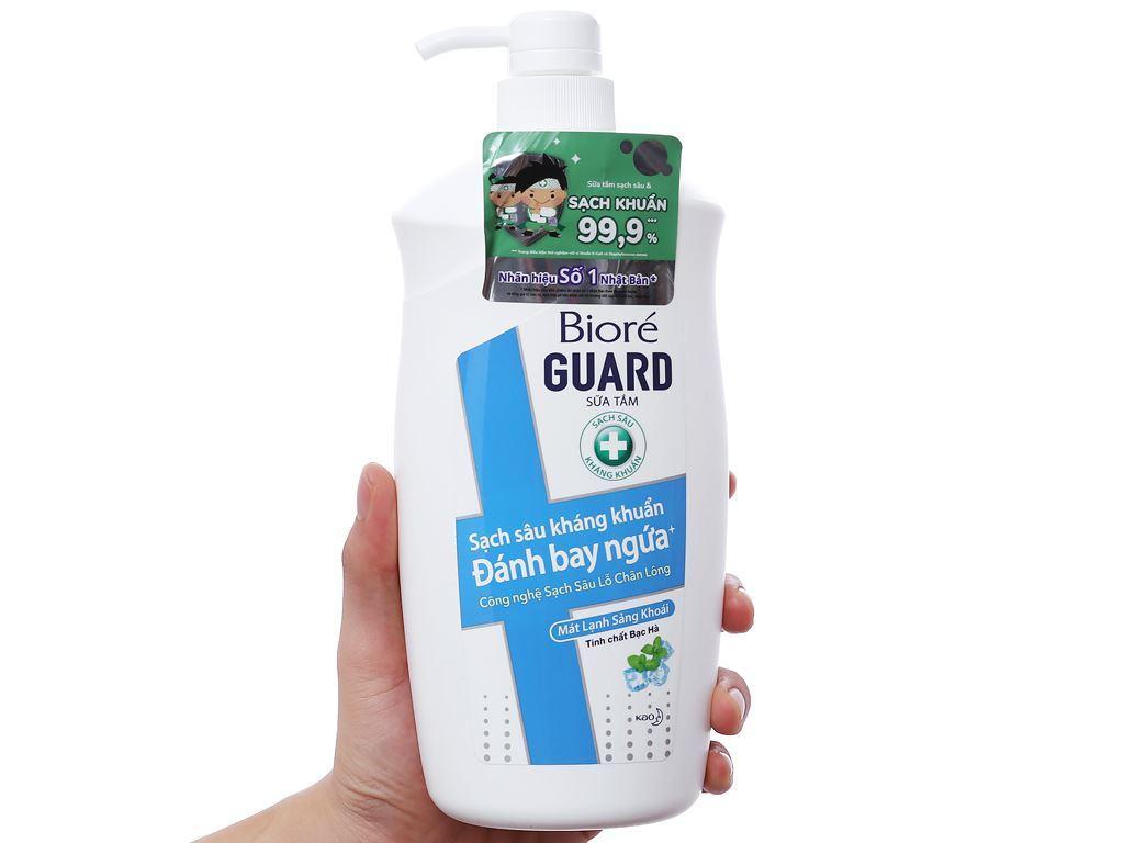 Sữa tắm Bioré mát lạnh sảng khoái 800g 3