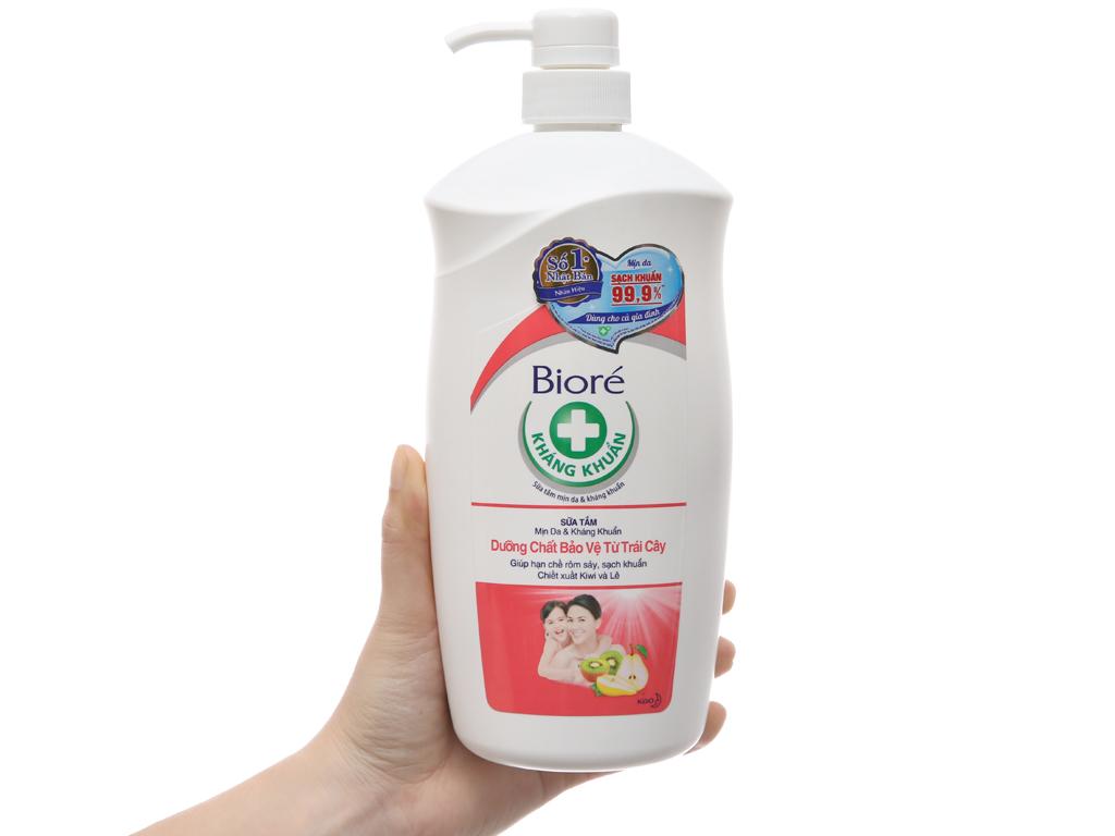 Sữa tắm Bioré dưỡng chất bảo vệ từ trái cây 800g 4