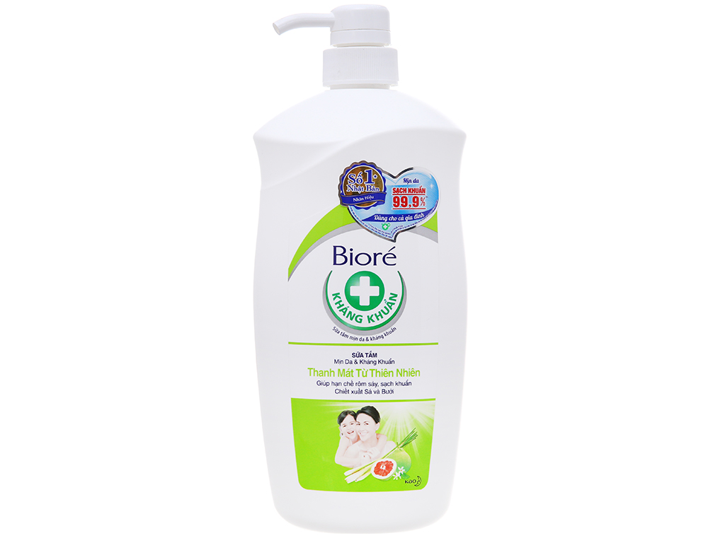Sữa tắm Bioré thanh mát từ thiên nhiên 800g 2