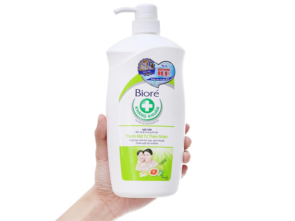 Sữa tắm Bioré thanh mát từ thiên nhiên 800g 4
