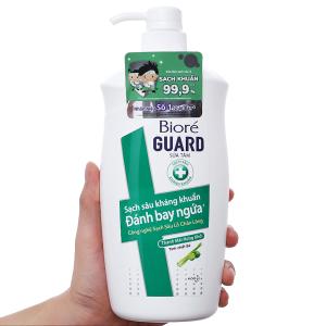 Sữa tắm sạch sâu kháng khuẩn Bioré sả và bưởi 800g