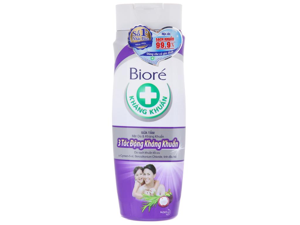 Sữa tắm Biore 3 tác động kháng khuẩn 220g 2