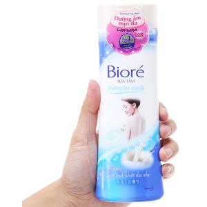 Sữa tắm dưỡng ẩm mịn da Bioré hương sữa 200g