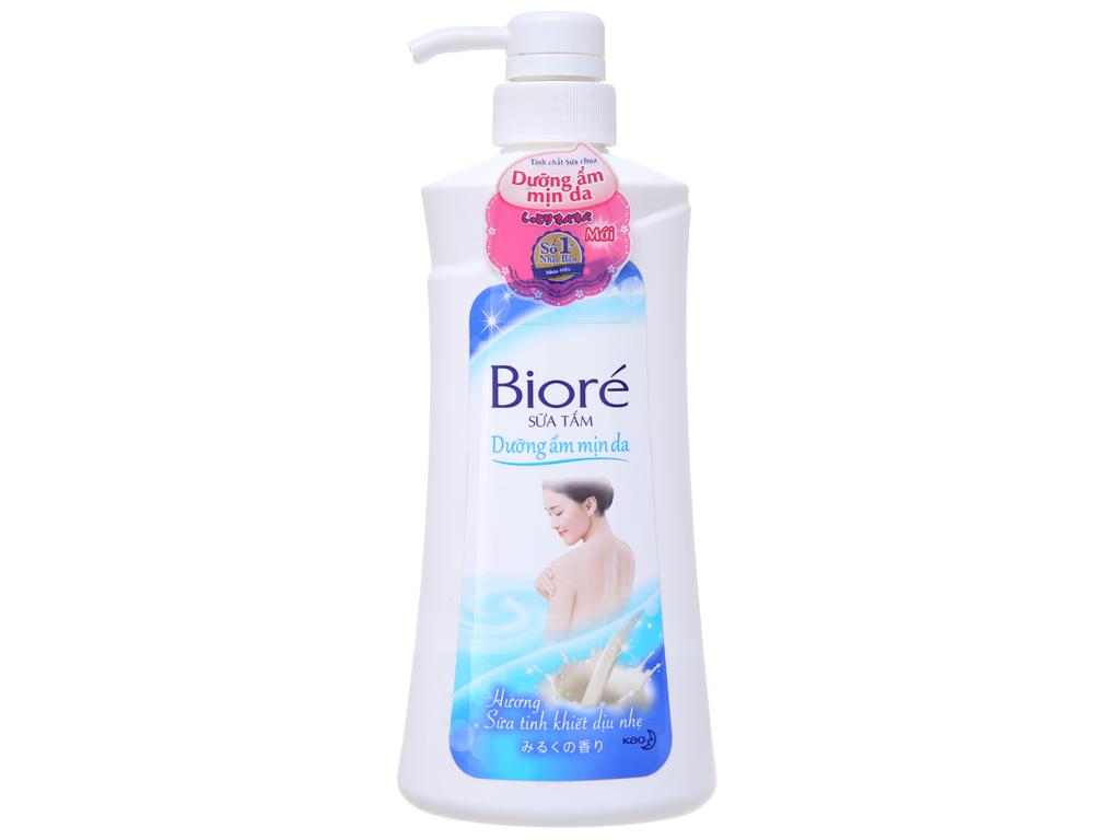 Sữa tắm dưỡng ẩm mịn da Bioré hương sữa 530g 2