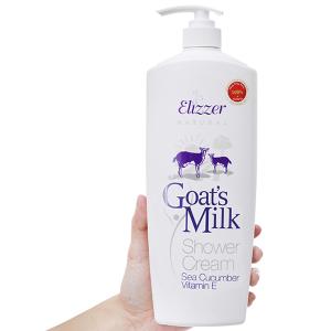 Sữa tắm Elizzer Natural tinh chất sữa dê 1 lít