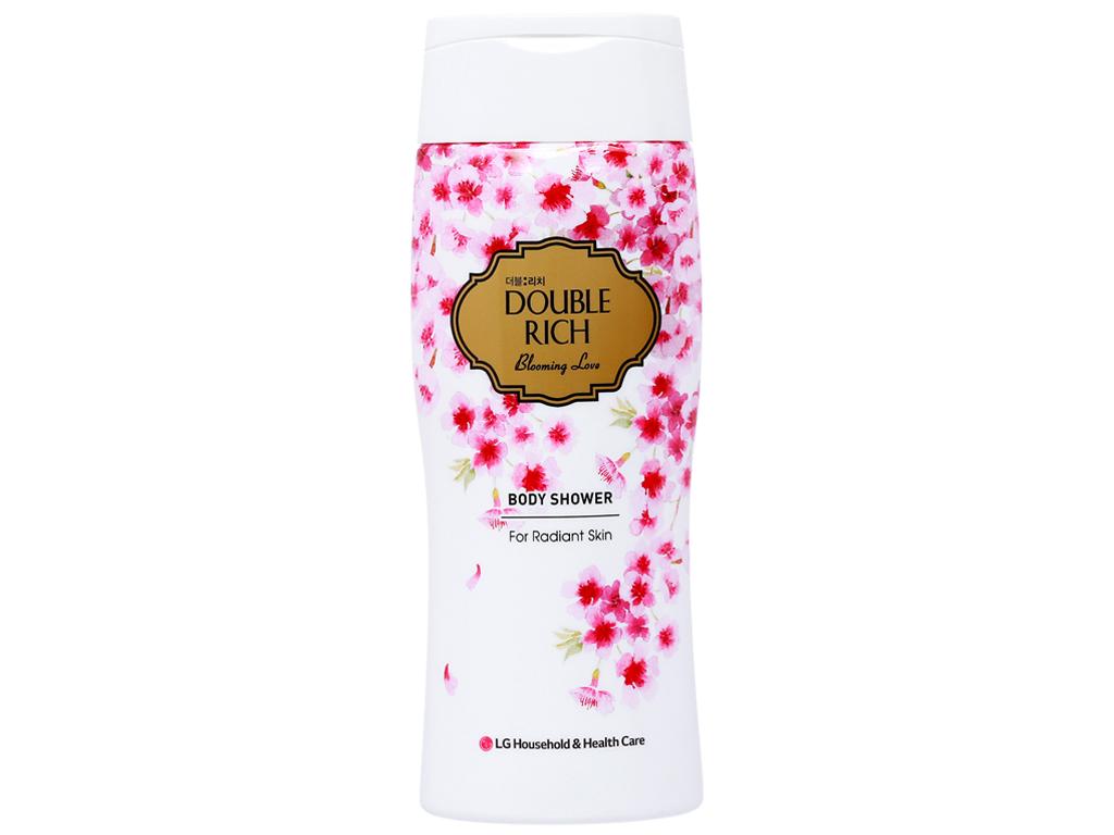 Sữa tắm hoa anh đào Double Rich Blooming Love 200g 1