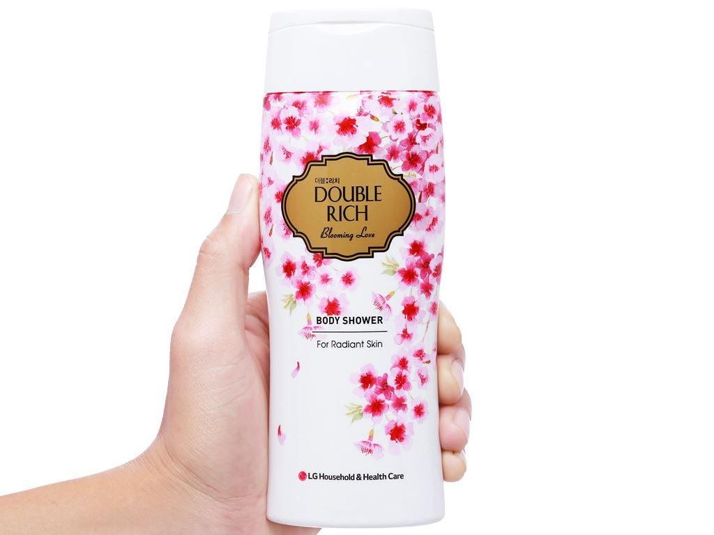 Sữa tắm hoa anh đào Double Rich Blooming Love 200g 4