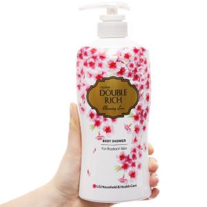 Sữa tắm hoa anh đào Double Rich Blooming Love 550g