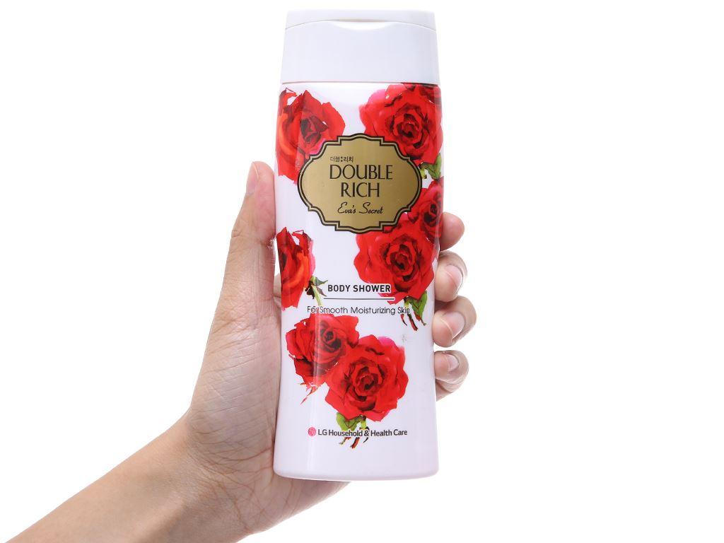 Sữa tắm hoa hồng Double Rich Eva's Secret 200g 4