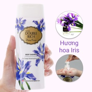 Sữa tắm hoa iris Double Rich Dreamy Romance 200g