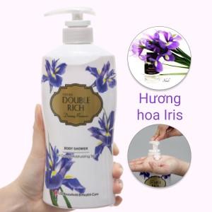 Sữa tắm hoa iris Double Rich Dreamy Romance 550g