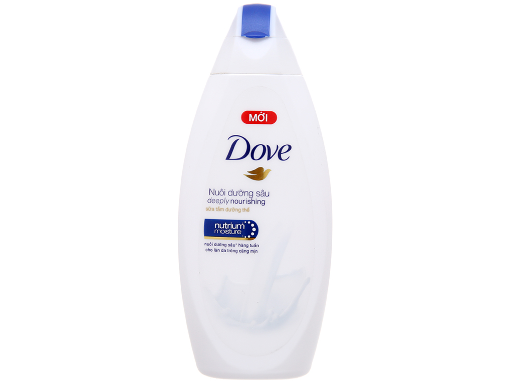 Sữa tắm dưỡng thể Dove dưỡng ẩm sâu 180ml 2