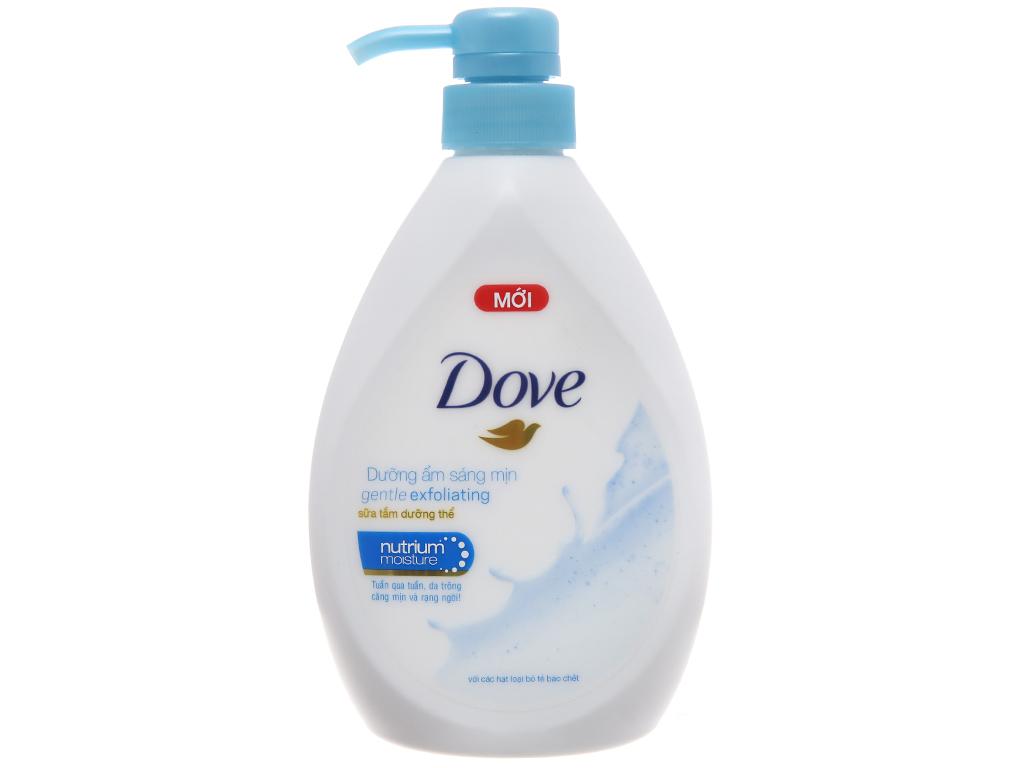 Sữa tắm dưỡng thể có hạt Dove dưỡng ẩm sáng mịn 527ml 2