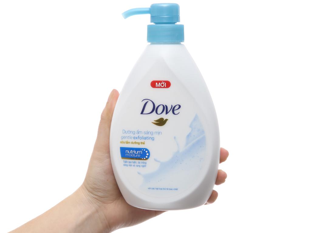 Sữa tắm dưỡng thể có hạt Dove dưỡng ẩm sáng mịn 527ml 4