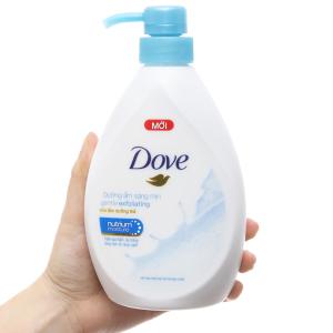 Sữa tắm dưỡng thể có hạt Dove dưỡng ẩm sáng mịn 527ml