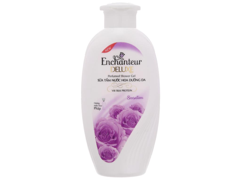 Sữa tắm nước hoa dưỡng da Enchanteur Deluxe Sensation 180g 2